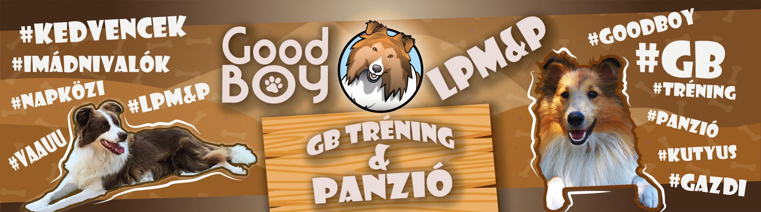 Good Boy Tréning és Panzió